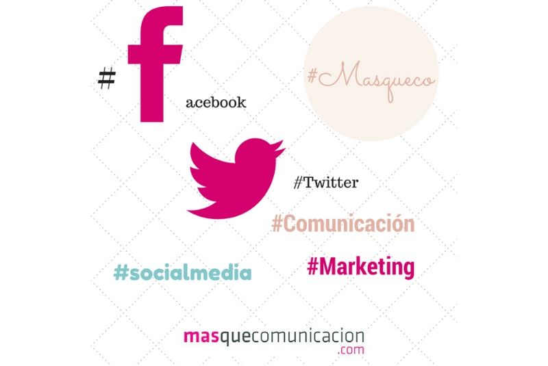 Hashtags redes sociales