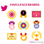 Influence awards social media