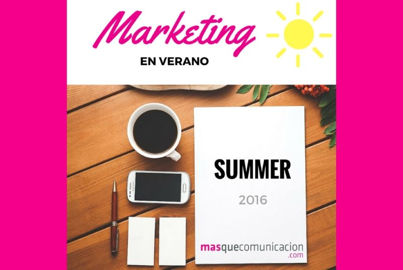 Marketing verano